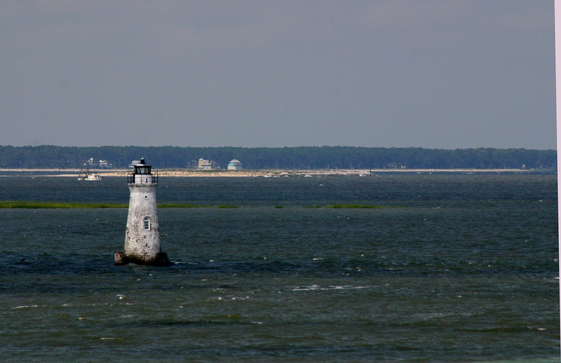 Channel Marker - Savannah River, near Tybee Island, Georgia