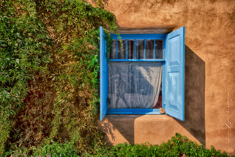 'The Window & I...'<br /> Ranchos de Taos, New Mexico