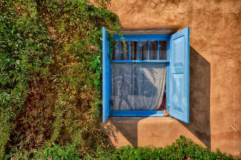 'The Window & I...' Ranchos de Taos, New Mexico