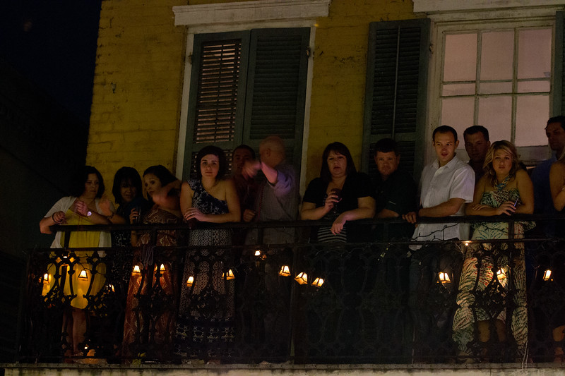 New Orleans is all about the party.. everything and anything goes on Bourbon Street..