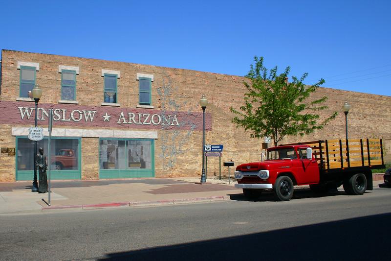 Standin' on a Corner Park, Winslow, AZ