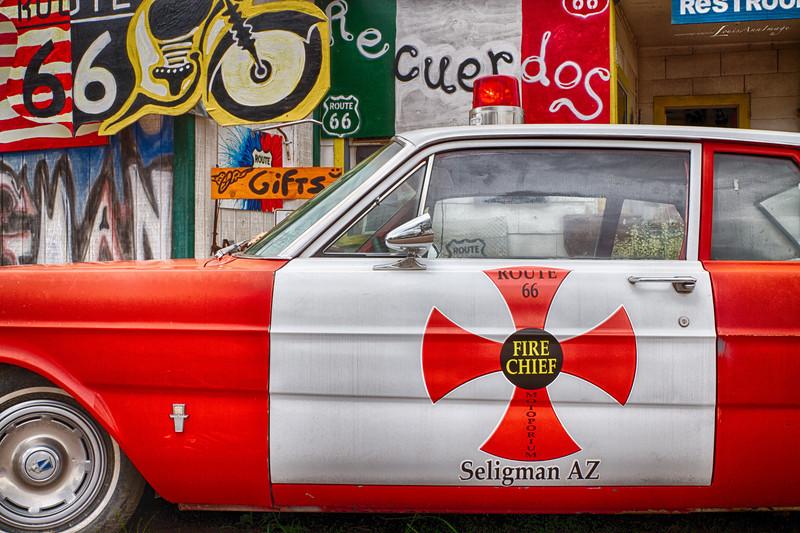 Seligman Fire Chief...