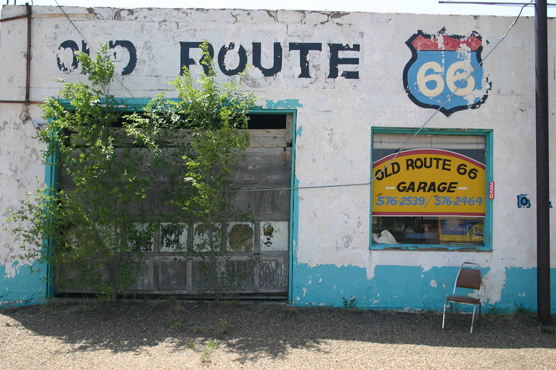 Along Route 66, the ruins of another age dominate the landscape. This gallery depicts just a snapshot of those subjects who've seen a better day.