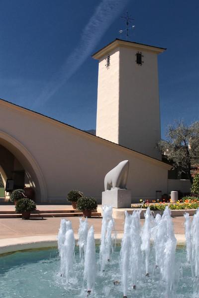 """Fountain - Mondovi"" - Early Spring in the Napa Valley."