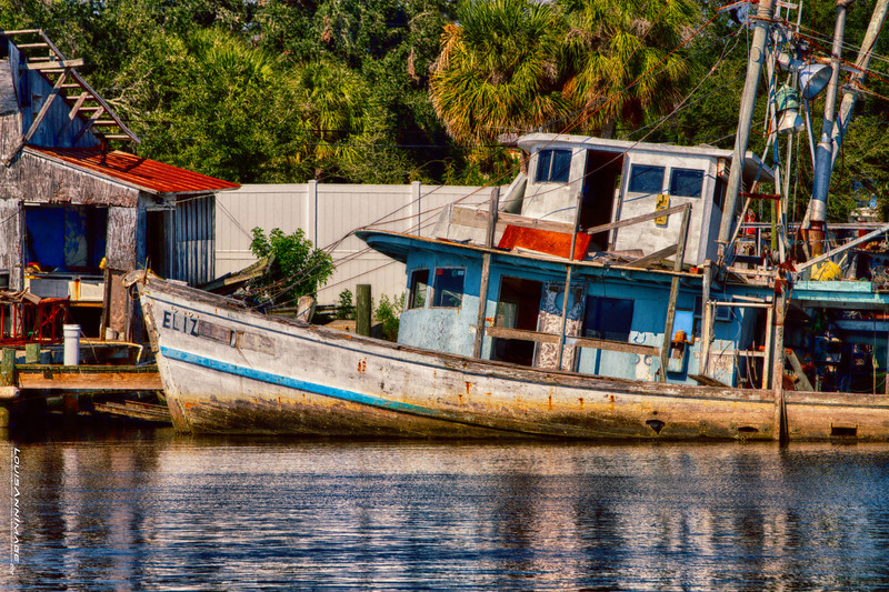 'Eliz' Sunk - Tarpon Springs, Florida
