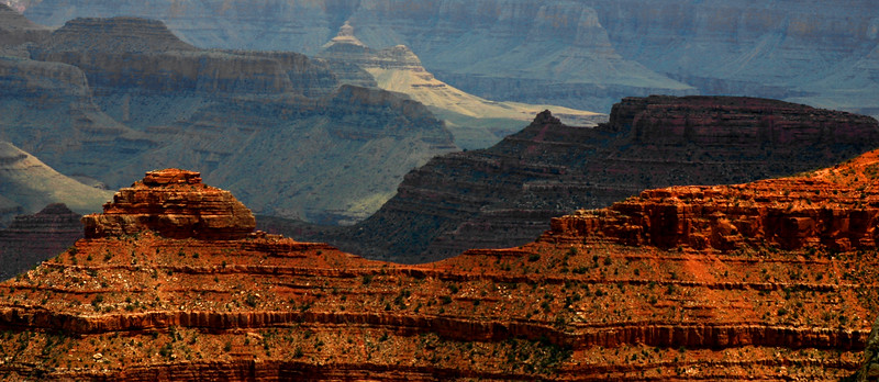The Grand Canyon - From the South Rim - that first awe inspiring gaze brought a tear...