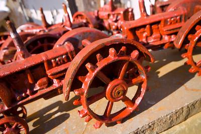 Farm Equipment, Reduced Size - Symmetry in Merchandizing