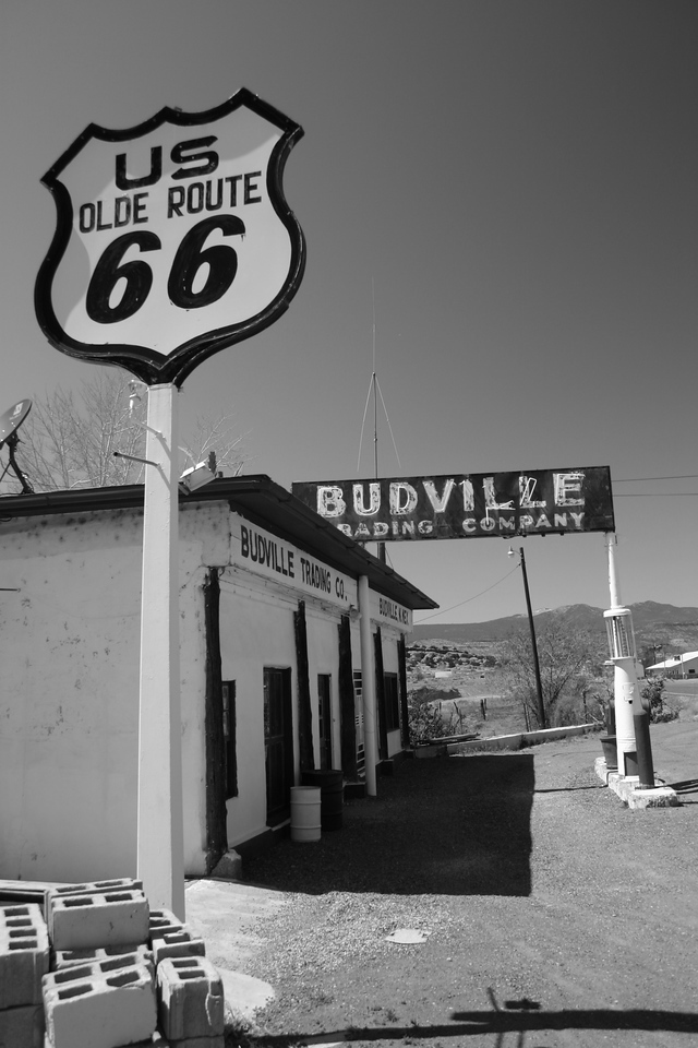 Budville, New Mexico , Route 66 - Main Street USA.