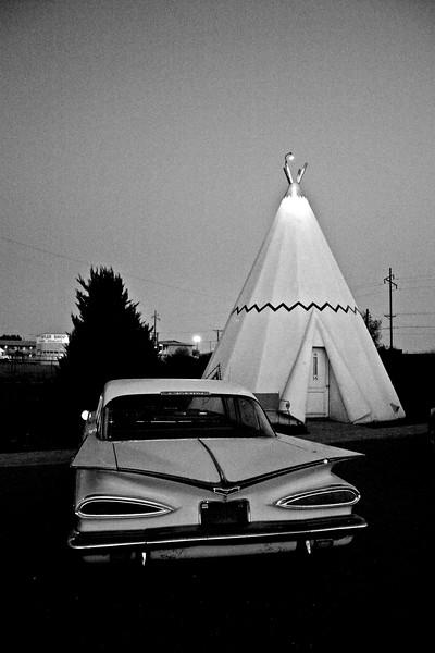 Wigwam Village, Holbrook, Arizona , Route 66 - Main Street USA.