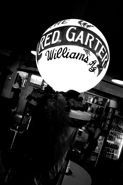 The Red Garter, Williams, Arizona , Route 66 - Main Street USA.