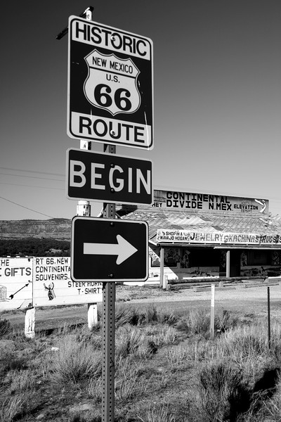 Continental Divide, New Mexico , Route 66 - Main Street USA.