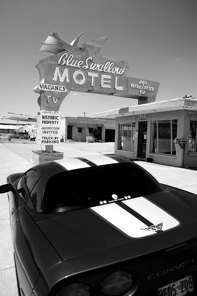 Tucumcari, New Mexico , Route 66 - Main Street USA.