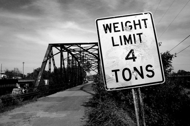 Brick Deck Bridge - Sapulpa, Oklahoma , Route 66 - Main Street USA.
