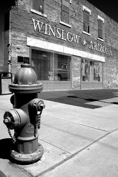 Winslow, Arizona , Route 66 - Main Street USA.