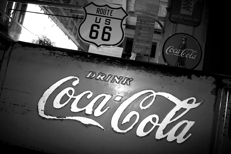 Riverton, Kansas , Route 66 - Main Street USA.