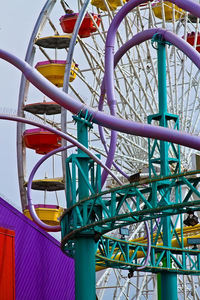 """Amusement"" Santa Monica Pier, Santa Monica, California"