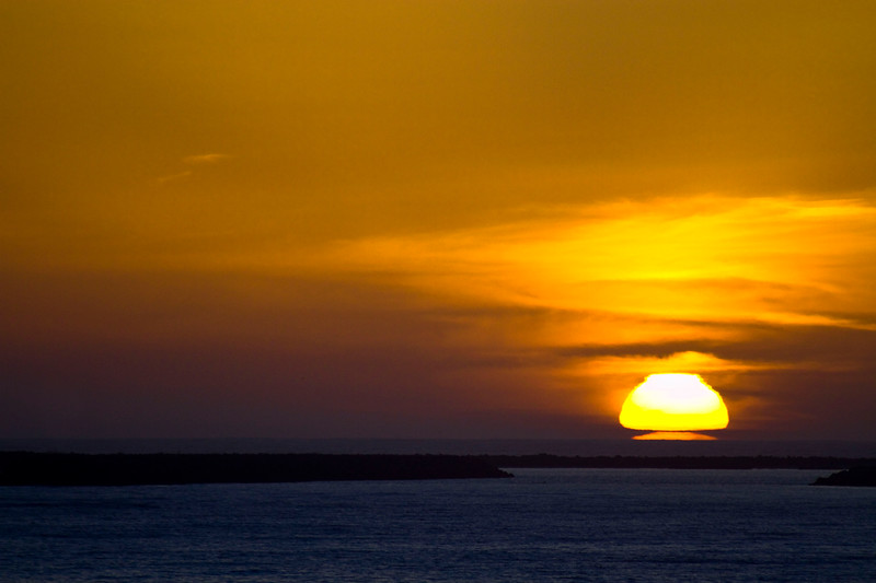 Sunset - Half Moon Bay, California