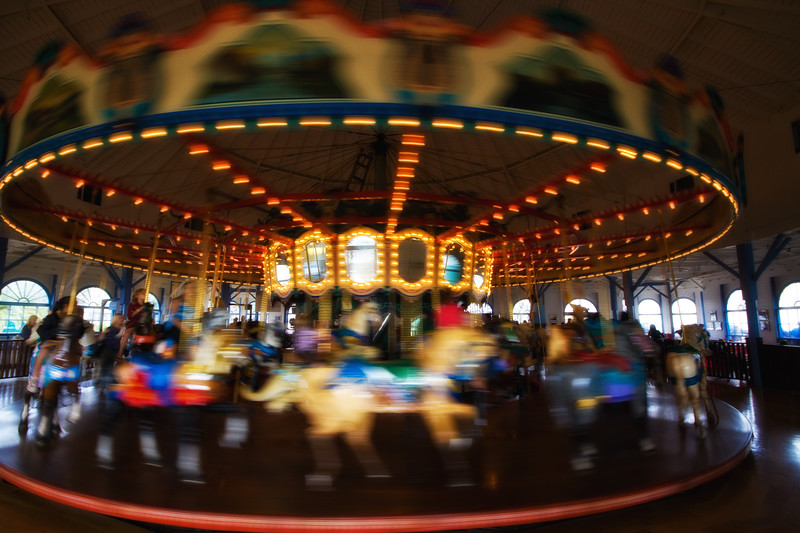 """The Santa Monica Pier Carousel"" Santa Monica, California"