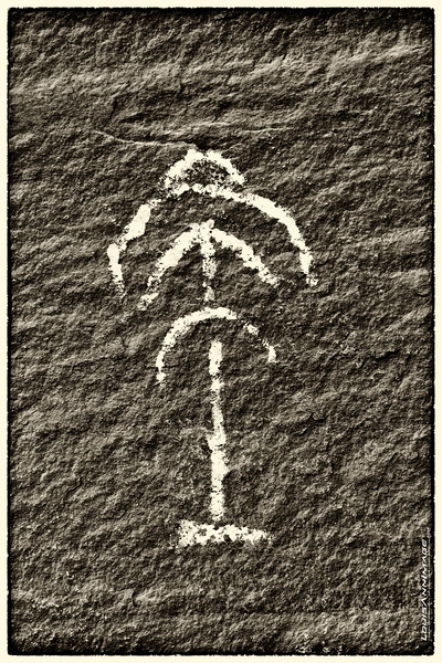 """Pictograph in Black and White - Mystery Valley, Navajo Tribal Park, Monument Valley, AZ<br /> See More of Arizona & Utah - """"The Southwestern Sun' here: <a href=""""http://smu.gs/RfQCCf"""">http://smu.gs/RfQCCf</a>"""