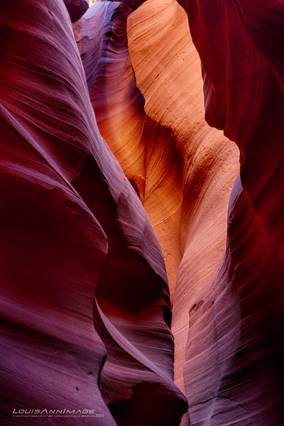 """The land of Red Dirt and the awesome slots - Upper and Lower Antelope Canyon.  A three exposure HDR.. <br /> See More of Arizona & Utah - """"The Southwestern Sun' here: <a href=""""http://smu.gs/RfQCCf"""">http://smu.gs/RfQCCf</a><br /> Thanks, HB"""