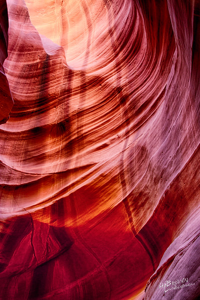 The land of Red Dirt and the awesome slots - Upper and Lower Antelope Canyon.  A three exposure HDR..