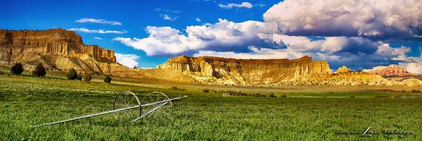 Alfalfa Fields - Scenic Byway 12, Henrieville, Utah