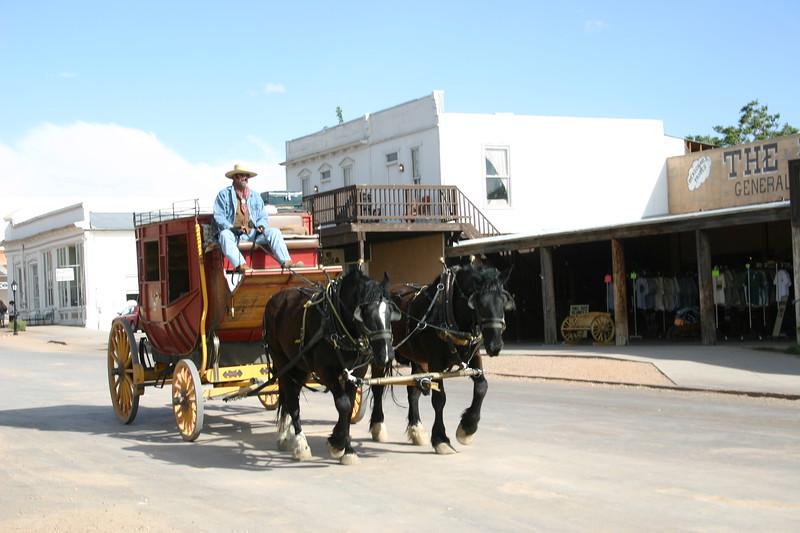 Tombstone, Arizona - the OK Corral and Big Nose Kate's Saloon