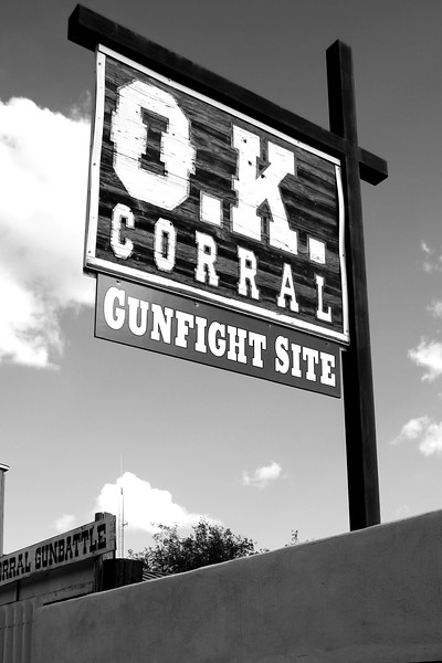 Tombstone, Arizona - the OK Corral and Big Nose Kate's Saloon
