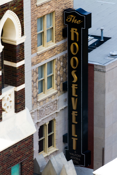 From the 15th floor level of the Pare Marquette, or street level, the more modern part of New Orleans is worthy of study..