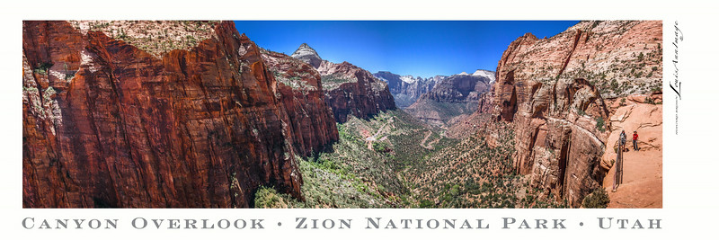 Canyon Overlook Panno - Poster 1x3 Aspect