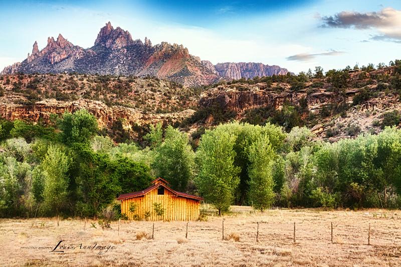 Eagle Crags - Out back of the Barn, Rockville, Utah
