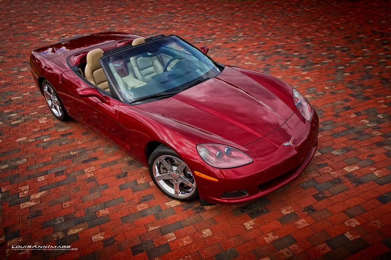 2007 Corvette Roadster - Monterey Red