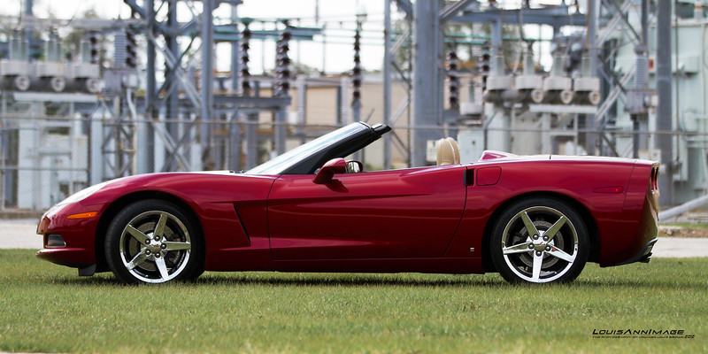 2007 Corvette Roadster - Monterey Red