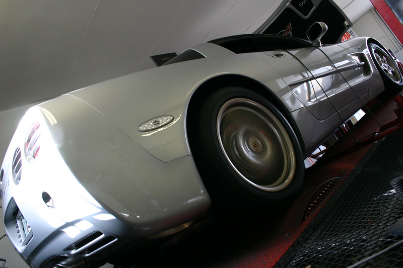 Our '99 Sebring Silver Six-Speed Coupe on the Dyno at Mike Norris Motorsports -