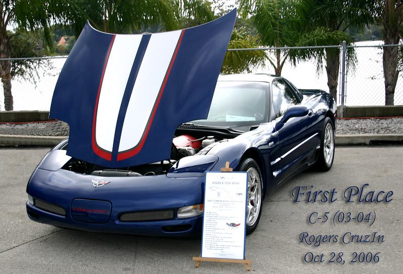 Reds Z06 - Rogers CruiseIn Corvette Show