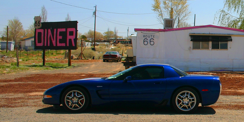 Reds Z06 - Route 66 Diner - Arizona