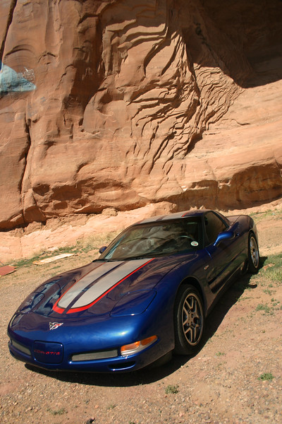 Reds Z06 - At the Arizona New Mexico Border