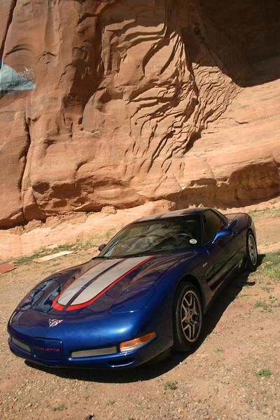 Reds Z06 - At the Arizona New Mexico Border