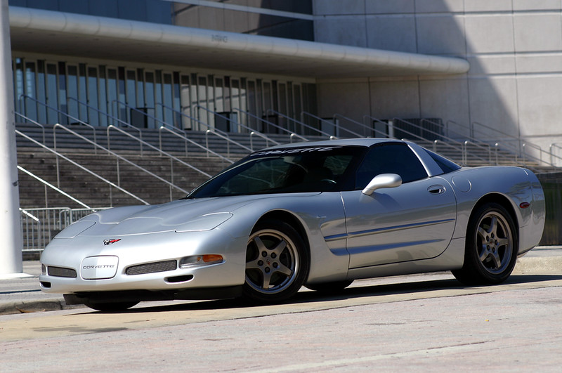'99 Sebring Silver Six-Speed Coupe - Photo Shoot - TD Waterhouse Center - Orlando Arena