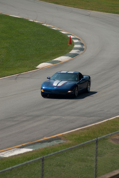 Reds Z06 - Hot Laps - Road Atlanta - National Corvette Museum 15th Anniversary National Corvette Caravan August 2009.