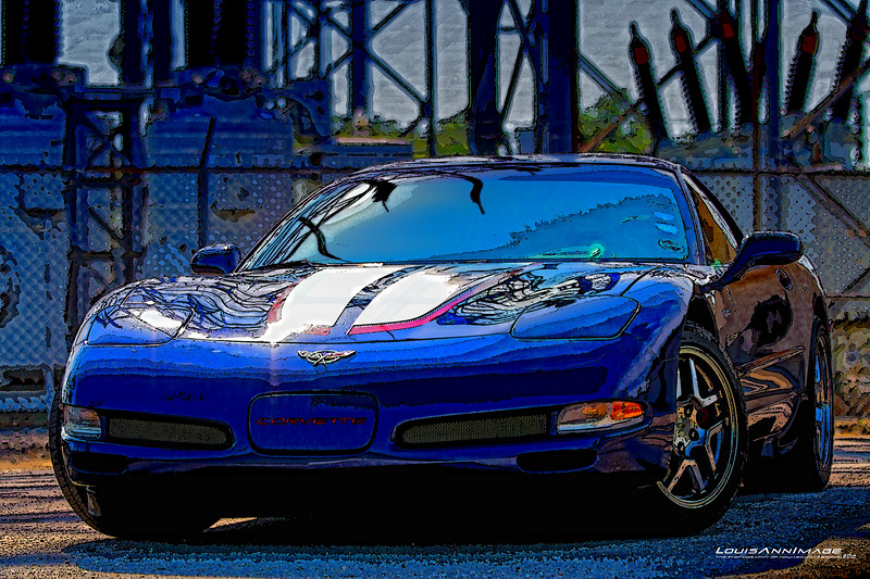 A beautiful 2004 Commemorative Edition Z06 owned by my wife, 'Red.'