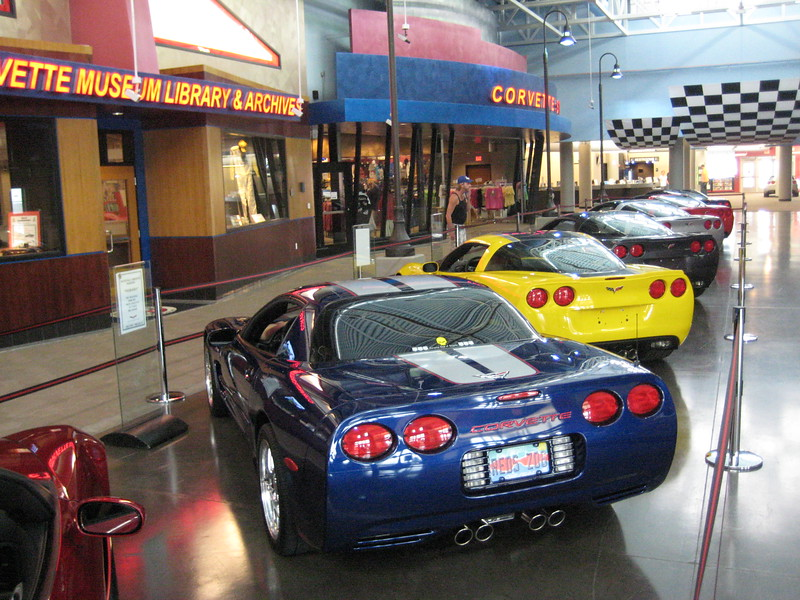 "Reds Z06 - On Display In The National Corvette Museum - ""The NCM Xperience"" September, '09"