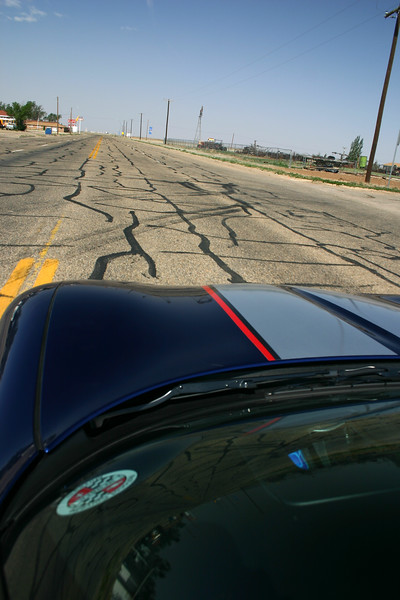 Reds Z06 - Route 66 - Adrian, Texas