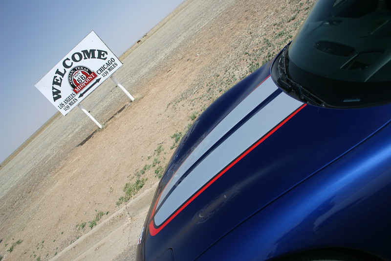 Reds Z06 - Midpoint - Route 66 - Adrian, Texas