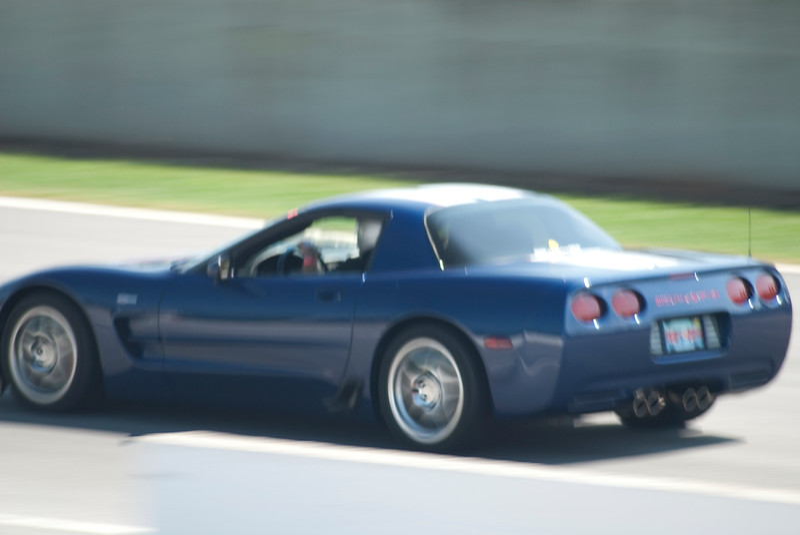 Reds Z06 - Hot Laps - Road Atlanta - National Corvette Museum 15th Anniversary National Corvette Caravan August 2009.