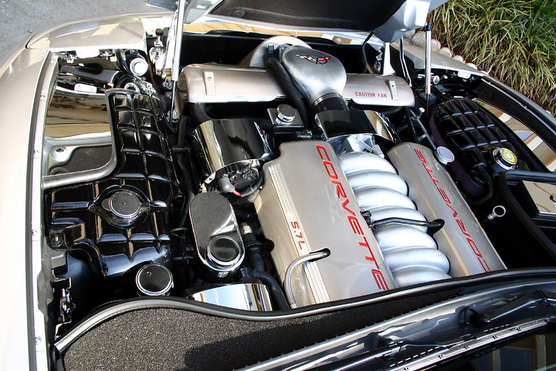 '99 Sebring Silver Six-Speed Coupe - Under the hood