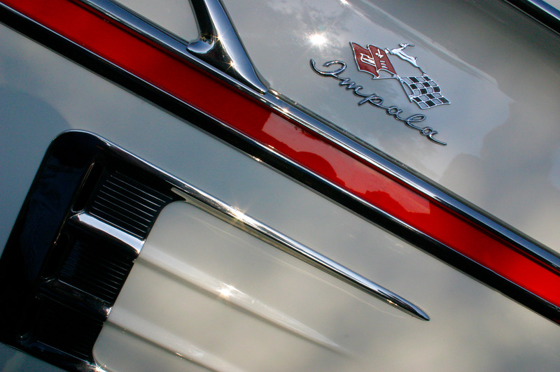 The Classic Automobile - Art in Steel, Chrome and Glass. 1958 Chevrolet Impala