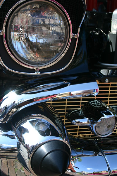 The Classic Automobile - Art in Steel, Chrome and Glass. 1957 Chevy