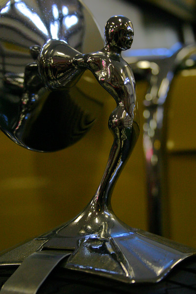 Hood Ornaments of classic automobiles