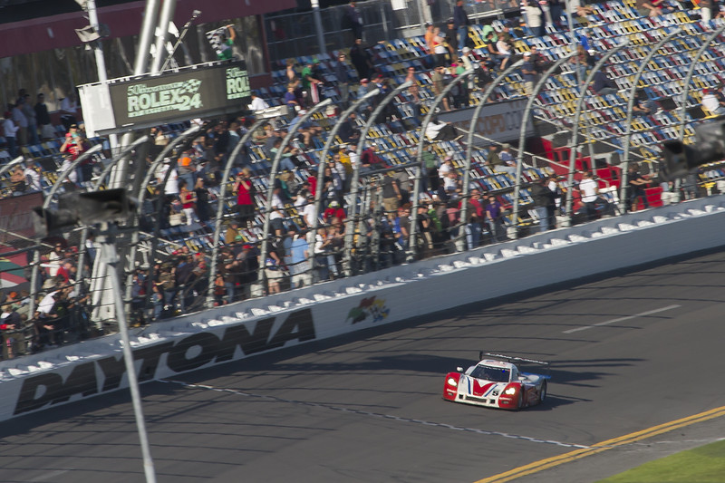 The Number 5 Action Express Corvette finishes just 3 laps back in 5th place overall!